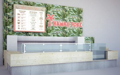 Hawaii Poké till Gallerian i Stockholm